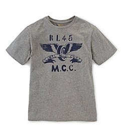 Ralph Lauren Childrenswear Boys' 8-20 Short Sleeve Motorcycle Club