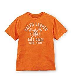 Ralph Lauren Childrenswear Boys' 8-20 Arrowhead Graphic Tee