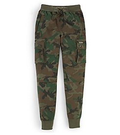 Ralph Lauren Childrenswear Boys' 8-20 Terry Cargo Pants