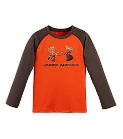 Under Armour® Boys' 2T-7 Hunt Big Logo Raglan Tee