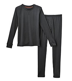 Climatesmart™ Boys' 4-12 Two-Piece Comfortech® Solid Base Layer Set