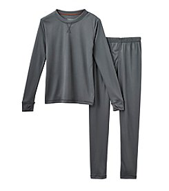 Climatesmart™ Boys' 4-12 Two-Piece Comforttech® Solid Base Layer Set