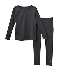 Climatesmart™ Boys' 2T-4T 2-Piece Comfortech® Solid Base Layer Set