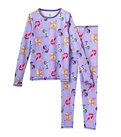 Cuddl Duds™ Girls' 4-12 Two-Piece My Little Pony® Comfortech® Base Layer Set