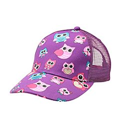 Miss Attitude Girls' Hoot Hoot Owl Cap