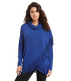 Chelsea & Theodore® Dolman Fringe Sweater