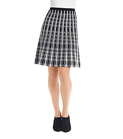 Spense® Flared Sweater Skirt