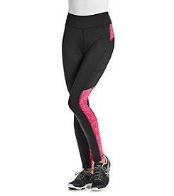Exertek® Running Tights With Color Accents