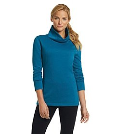 Exertek® Crossfront Cowlneck Shirt