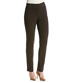 Laura Ashley® Solid Ponte Pant