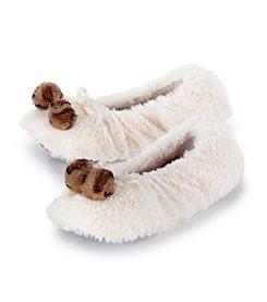 Fuzzy Babba® Leopard Furry Slippers