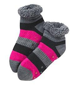 Fuzzy Babba® Cozy Warmer Teddy Crew Socks