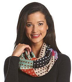 V. Fraas Multi Dots Cashmink® Loop Scarf