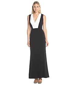 Calvin Klein Placket Maxi Dress