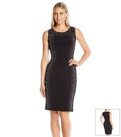 Calvin Klein Studded Ponte Dress
