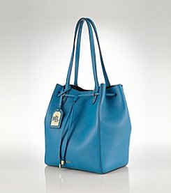 Lauren Ralph Lauren® Oxford Leather Shopper