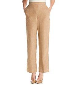Alfred Dunner® El Dorado Suede Short Pant
