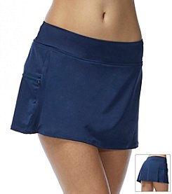 Beach House Solid Pull-On Skort