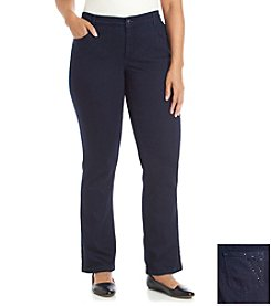 Laura Ashley® Plus Size Carnegie Bootcut Jeans