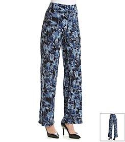 Gloria Vanderbilt® Adrian Palazzo Printed Soft Pants