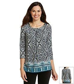 Gloria Vanderbilt® Paola Printed Tunic
