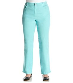 Gloria Vanderbilt® Plus Size Amanda Colored Denim