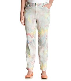 Gloria Vanderbilt® Plus Size Amanda Mystique Print Denim