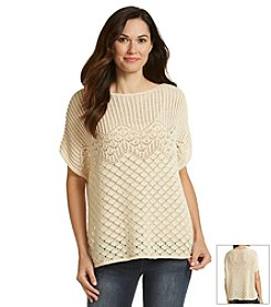 Jeanne Pierre® Open Stitch Poncho