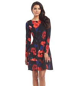 Ivanka Trump® Floral Dropwaist Dress