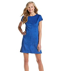 Jessica Simpson Faux Suede Shift Dress