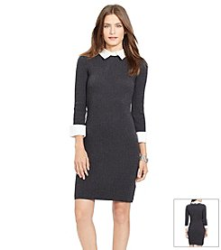 Lauren Ralph Lauren® Cable-Knit Dress