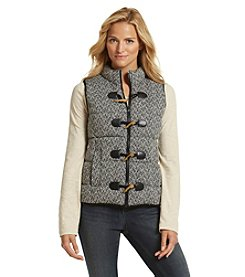 Ruff Hewn Menswear Tweed Puffer Vest