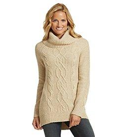 Ruff Hewn Hi Low Cowlneck Sweater