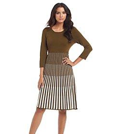 Lennie Striped Sweater Dress