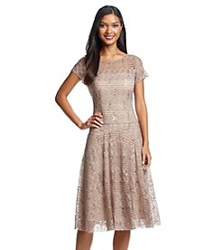 Sangria™ Sequin Fit And Flare Dress