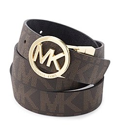 MICHAEL Michael Kors® Reversible Logo Buckle Belt
