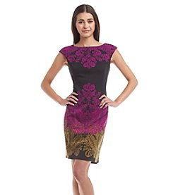 London Times® Petites' Sheath Dress