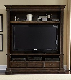 Liberty Furniture Mendenhall Entertainment Center Collection