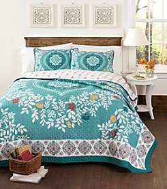 Lush Decor Newbold 3-pc. Quilt Set