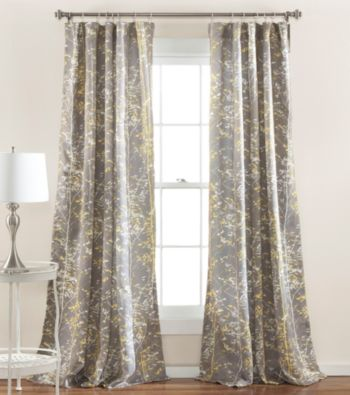Half Moon Forest Room Darkening Window Curtain Bon Ton