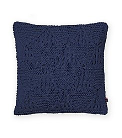 Tommy Hilfiger® Bar Harbor Navy Knit Pillow