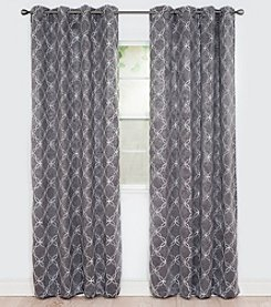 Lavish Home Myra Room Darkening Window Curtains