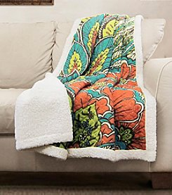Lush Decor Elena Sherpa Throw