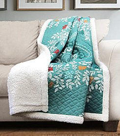 Lush Decor Newbold Sherpa Throw