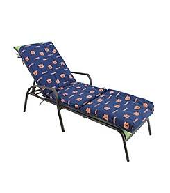 NCAA® Auburn Tigers 3-pc. Chaise Lounge Cushion