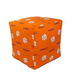 NCAA® Clemson Tigers Cube Cushion