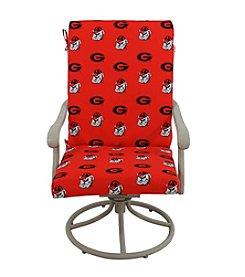 NCAA® Georgia Bulldogs 2-pc. Chair Cushion