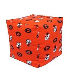 NCAA® Georgia Bulldogs Cube Cushion