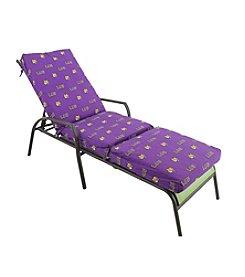 NCAA® Louisiana State Tigers 3-pc. Chaise Lounge Cushion