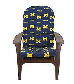 NCAA® Michigan Wolverines Adirondack Cushion